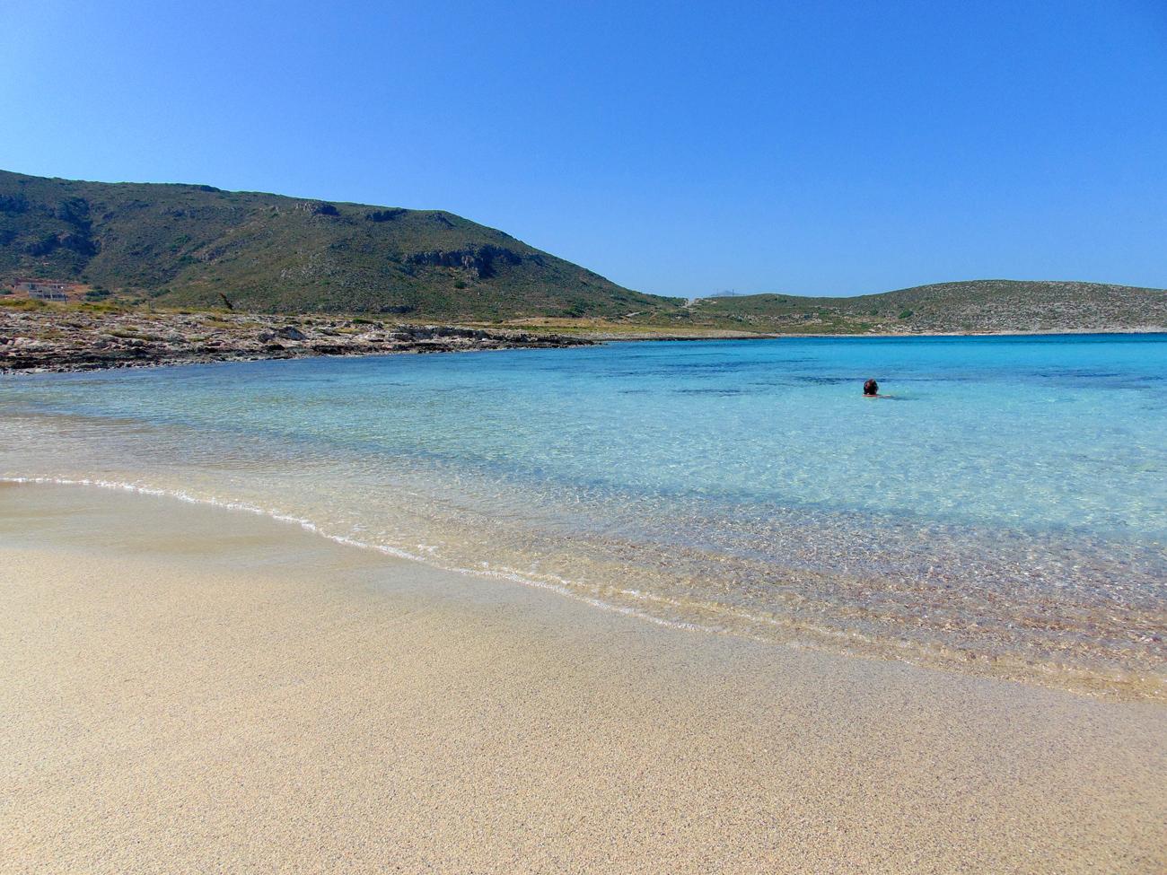 Bucht auf der Insel Elafonisos